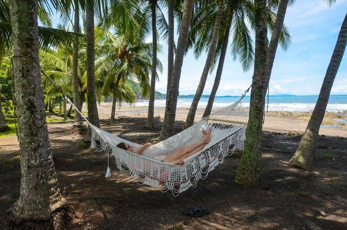 relajando en costa rica