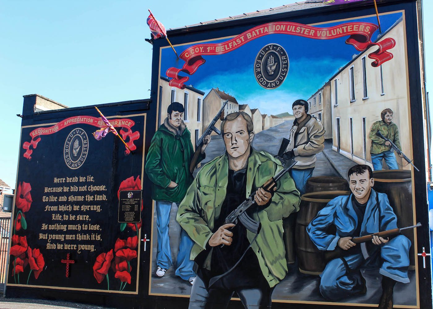 The murals of belfast hayo magazine for Mural belfast