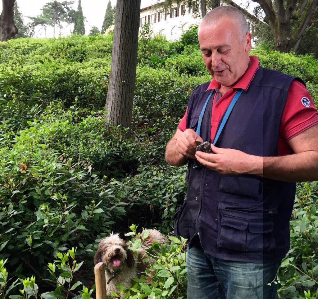 2. Truffle Hunting - Florence