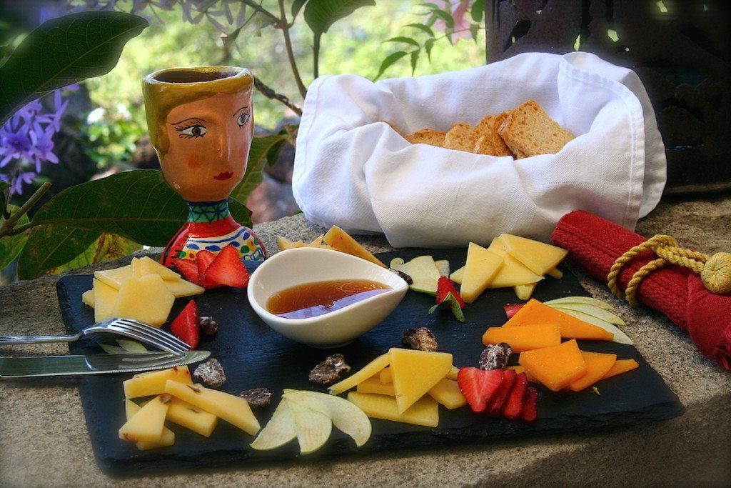 7. Cheese at Casa Palopo - Guatamela