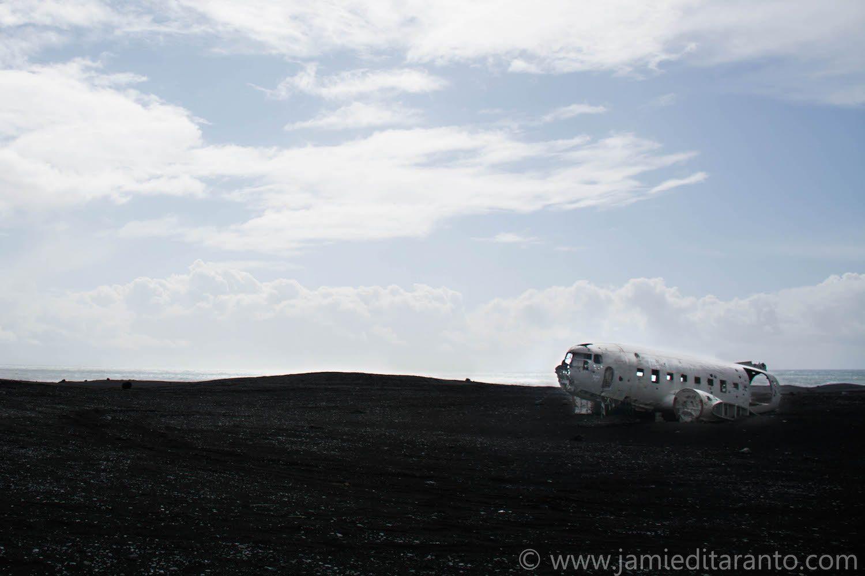 Abandoned-Plane Iceland