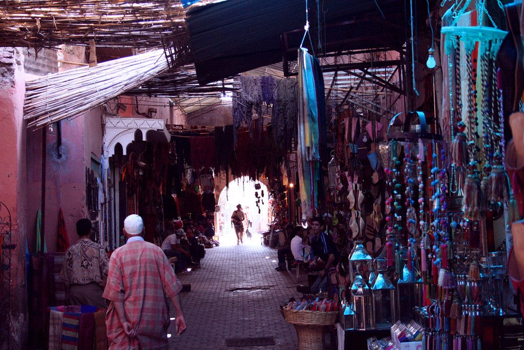 In the Souq, Marrakech