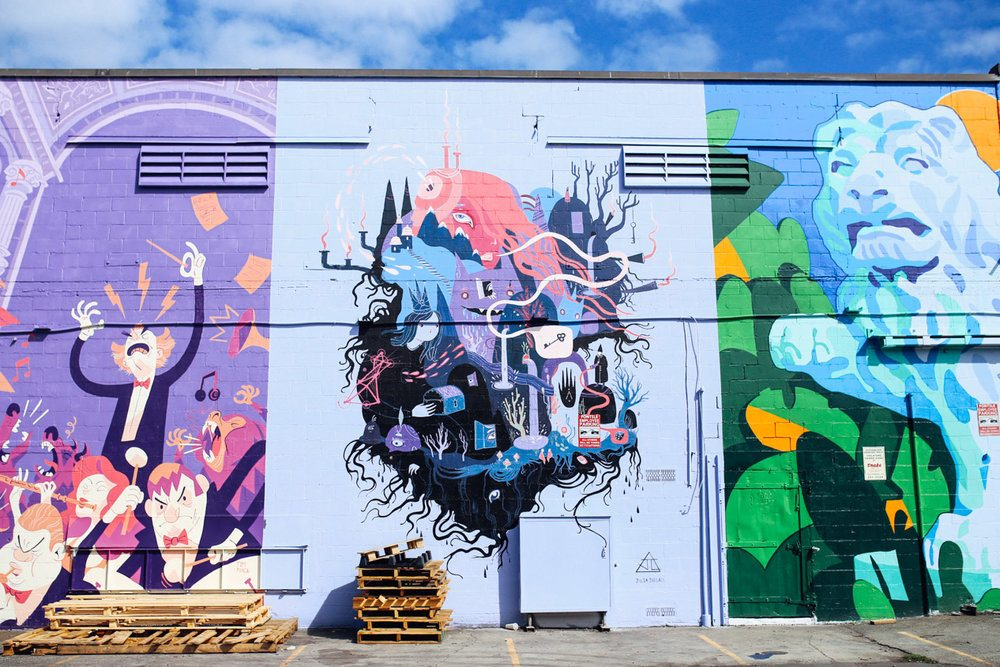 Hayo magazine field notes for Mural festival