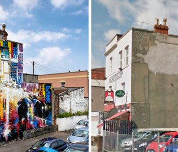 Before and After: Street Art's Transforming Capacity