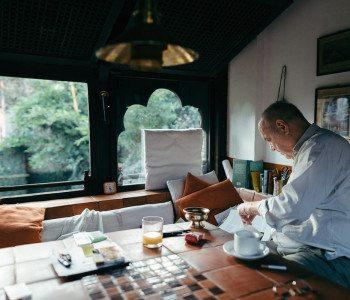 A Glimpse into Austrian Architect Götz Hagmüller's Life in Nepal
