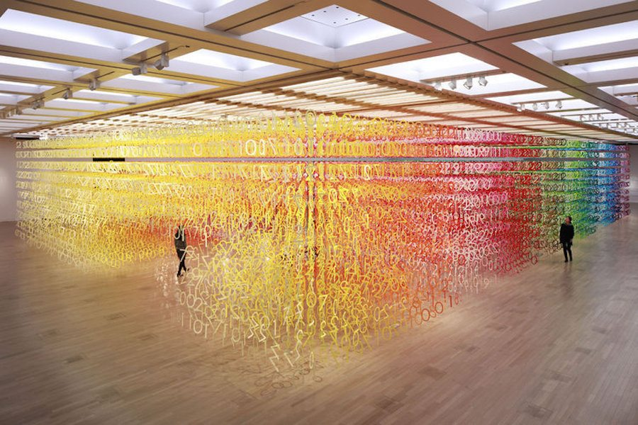 A Multi Sensory Art Experience Takes Over The National Art