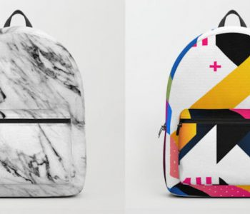 Society6 Launches New Line of Backpacks as Wearable Art