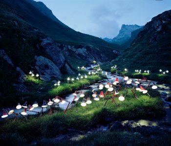 Norwegian Artist Rune Guneriussen Light's Up Norway's Forests