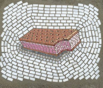 Chicago Artist Jim Bachor combines Ancient Art and Potholes