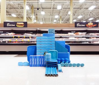 Unauthorized Art Installations Take Over Supermarkets & Big Stores