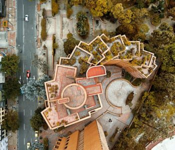 Aerial Photographs of Bogota Transform the City in Interesting Geometrical Patterns