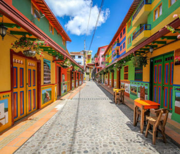 This Little Town in Colombia is A Colorful Paradise